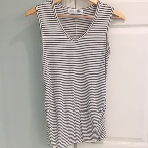 Maternity Black and White Tank - Preowned